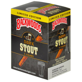 Backwoods Cigars Dark Stout - 5 Pack-0