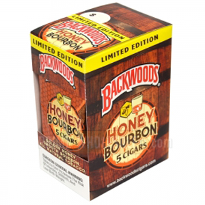 Backwoods Cigars Honey Bourbon - 5 Pack-0