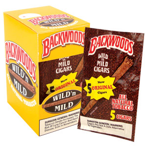 Backwoods Cigars Wild 'N Mild - 5 Pack-0