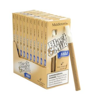 Black & Mild Cigars Mild - 5 Pack-0