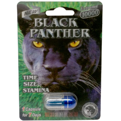 Black Panther Extreme 10000 Male Enhancement Pills-0