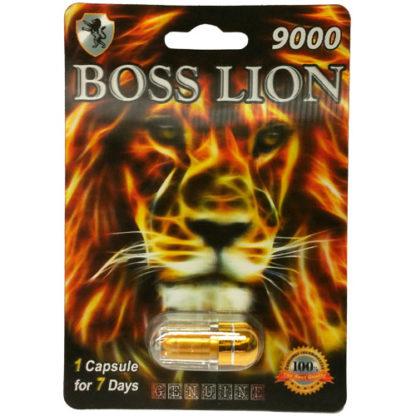 Boss Lion 9000 Male Enhancement Pills-0