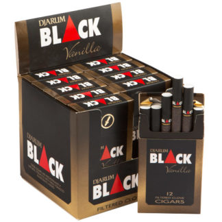 Djarum Black Vanilla Filtered Clove Cigars-0