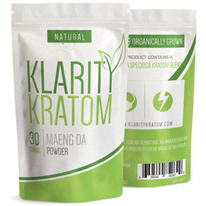 Klarity Kratom - Maeng Da Powder - 30 Grams-0