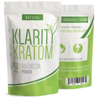 Klarity Kratom - Maeng Da Powder - 60 Grams-0