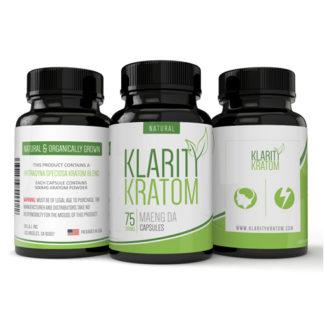 Klarity Kratom - Maeng Da Capsules - 75 CT-0