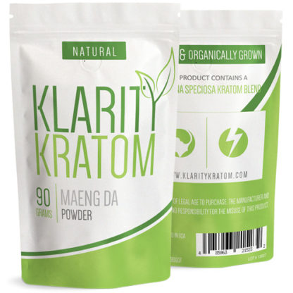 Klarity Kratom - Maeng Da Powder - 90 Grams-0