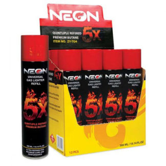 Neon 5X Ultra Refined Butane Gas-0