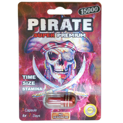 Pirate Super Premium 15000 Male Enhancement Pills-0