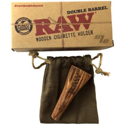 RAW Double Barrel Cigarette Holder-0