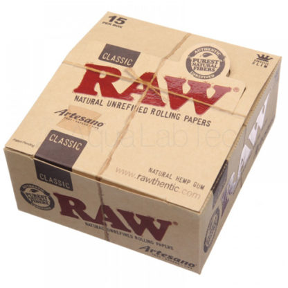 RAW Classic Artesano King Size Slim Rolling Papers-0