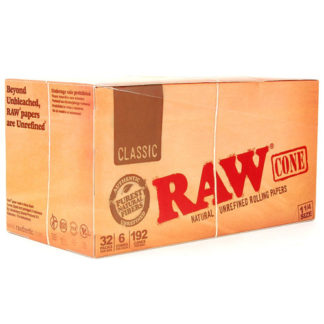 "RAW Classic Cone 1 1/4"" Rolling Papers-0"