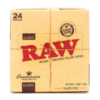 RAW Classic Connoisseur King Size Slim Rolling Papers-0