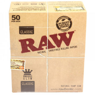 RAW Classic King Size Slim Rolling Papers-0