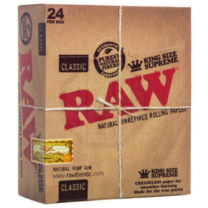 RAW Classic King Size Supreme Rolling Papers-0