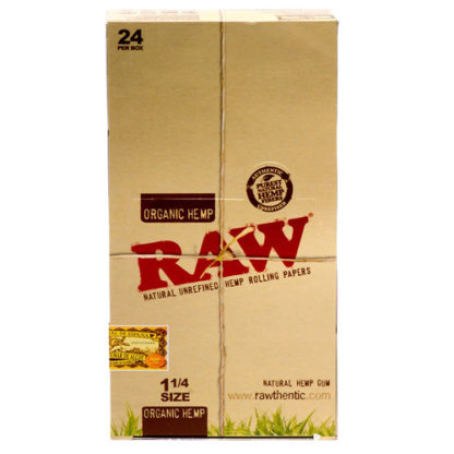 """RAW Organic 1 1/4"""" Rolling Papers-0"""