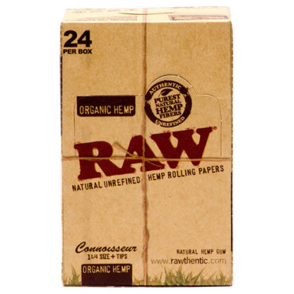 """RAW Organic Connoisseur 1 1/4"""" Rolling Papers-0"""