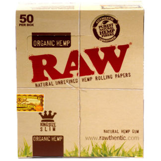 RAW Organic King Size Slim Rolling Papers-0