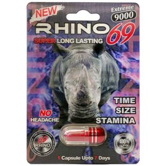 Rhino 69 Extreme 9000 Male Enhancement Pills-0