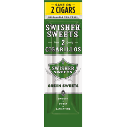 Swisher Sweets Cigarillos Green Sweets-0