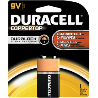 Duracell Coppertop 9V Alkaline Battery-0
