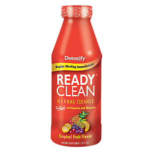 Detoxify Ready Clean Tropical Fruit - 16oz-0