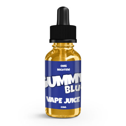 Gummy Vape Juice Blue 33ml-0