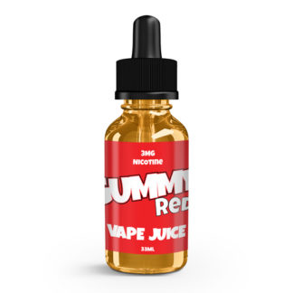 Gummy Vape Juice Red 33ml-0