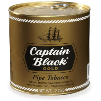Captain Black Pipe Tobacco Gold - 12oz Can-0