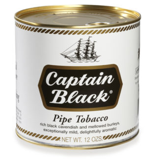 Captain Black Pipe Tobacco Original - 12oz Can-0