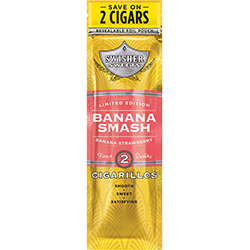 Swisher Sweets Cigarillos Grape Banana Smash-0